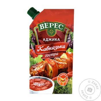 Аджика Верес Кавказская острая 130г - купить, цены на Novus - фото 1