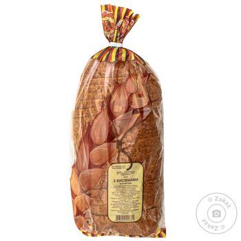 Хліб Нове Діло з висівками нарізний 400г - купить, цены на Ашан - фото 1