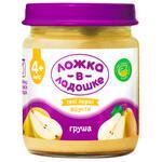 Lozhka v Ladoshke Pear Puree for Children from 4 months 100g