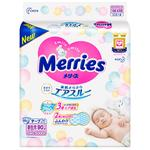Подгузники Merries Newborn 0-5кг 90шт