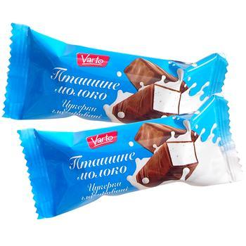 Конфеты Varto Птичье молоко глазированные весовые