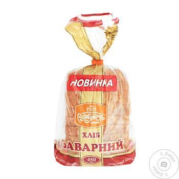 Хлеб Румянец заварной нарезанный 450г
