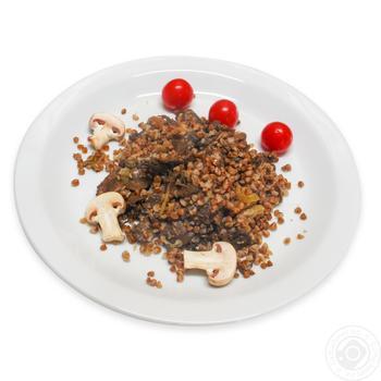 Гречка с грибами - купить, цены на Фуршет - фото 1