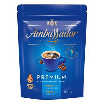 Кофе Ambassador Premium растворимый 170г