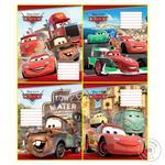 Зошит 12 аркушів лінія Cars MIZAR 249560