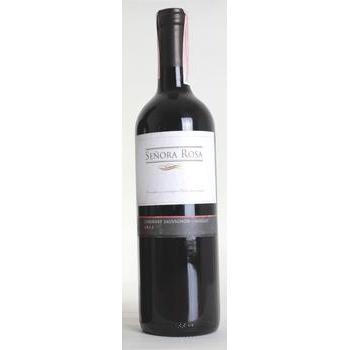 Вино виноградне натуральне напівсухе червоне Senora Rosa Мерло 12,5%0,5л