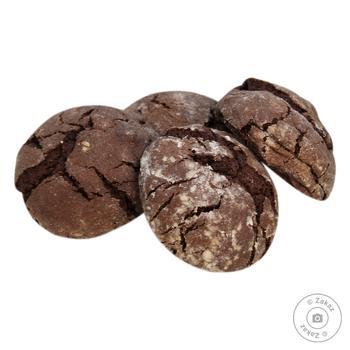 Печиво Шоколадне (ваг)(вл.вироб.) - купить, цены на Восторг - фото 1
