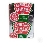 Lvivski drizhzhi for baking yeast 100g