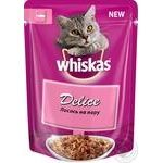 Food Whiskas salmon for pets 85g