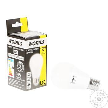 Work's LED Lamp 10W E27