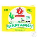 Маргарин Семерка 27% 200 г фольга