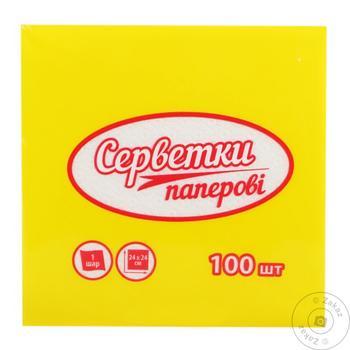 Subota Napkins 100pc - buy, prices for Tavria V - image 1