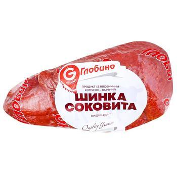 Шинка Глобино Соковита із яловичини копчено-варена вищий ґатунок