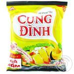 Вермишель Cung Dinh быстрого приготовления со вкусом жареной курицы 80г