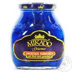 Fruit cherry Mikado blue canned 314ml glass jar