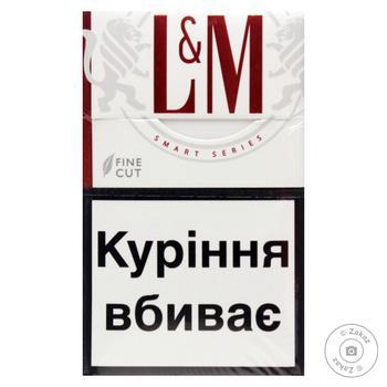 Сигареты L&M Red Label 20шт - купить, цены на Novus - фото 2