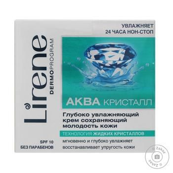 Крем Lirene зволожуючий захисний біоактивний від вільних радикалів - купить, цены на Novus - фото 1