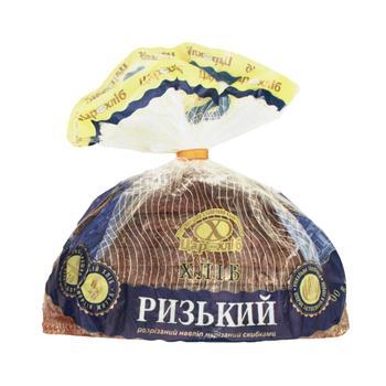 Хліб Цар Хліб Ризький розрізаний навпіл нарізаний упакований 400г