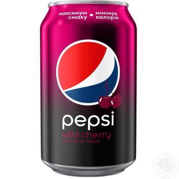 Напиток Pepsi Дикая Вишня 0,33л ж/б