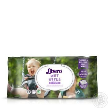 Libero Easy Change Aloe Baby Wet Wipes - buy, prices for Auchan - photo 1