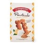 Печенье Campiello Rusticale злаковое с сыром рикотта и лимоном 350г