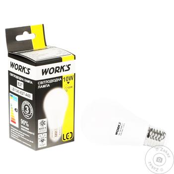 Лампа светодиодная Work's 10W E27
