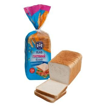 Kulinichi European Bread toast white 330g