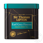 Чай черный Lipton Sir Thomas Earl Grey Finesse с ароматом бергамота 100г