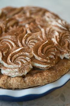 Пирог с корицей