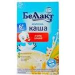 Каша Беллакт сухая молочная из пяти злаков 200г