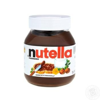 Ореховая паста Nutella с какао 630г