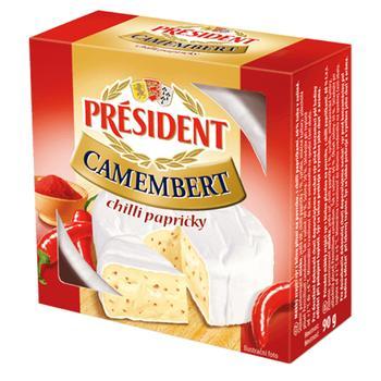 Сыр President камамбер 90г