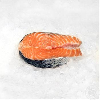 Стейк лосося охлажденный