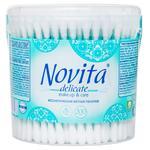 Ватные палочки Novita в банке 200шт