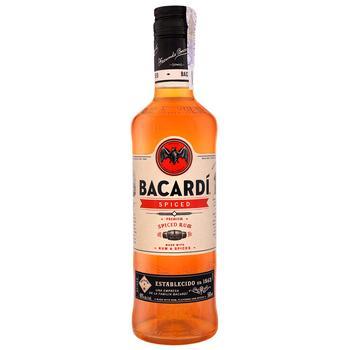 Ром Bacardi Spiced 40% 0.5л