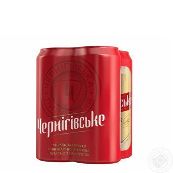 Пиво светлое Черниговское 4,8% 0,5л ж/б