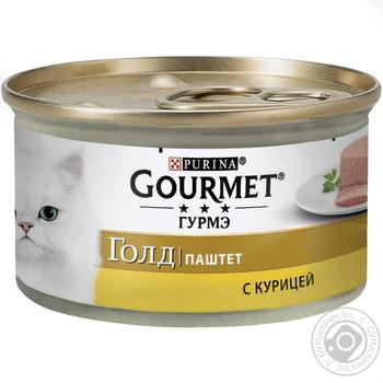 Gourmet Gold for cats with chicken pate 85g - buy, prices for Metro - image 1