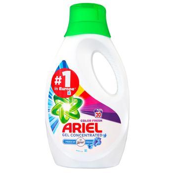 Гель для стирки Ariel Touch Of Lenor Color 1,1л