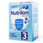 Смесь молочная Nutrilon 3 детская 600г