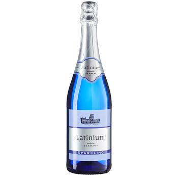 Вино игристое Latinium Sparkling белое полусладкое 8,5% 0,75л - купить, цены на Метро - фото 1