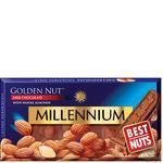 Шоколад молочный Millennium Golden Nut с цельным миндалем 90г