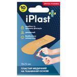 IPlast Fabric Basis Medical Plaster 19x72mm 10pcs