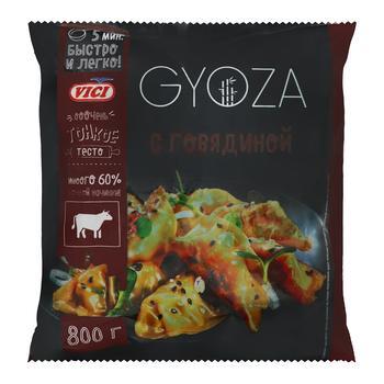 Пельмени Vici Gyoza с говядиной 800г