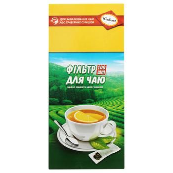 Фильтр-пакеты Викенд для заваривания чая для чашки 100шт