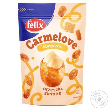 Арахис Felix Carmelove в карамеле 160г - купить, цены на Таврия В - фото 1