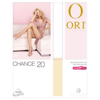 Колготы Ori Chance женские бронзовые 20 ден р.5