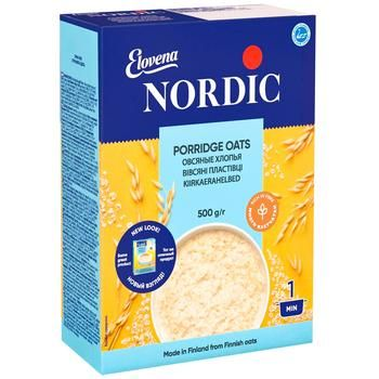 Nordic Oatmeal flakes 500g