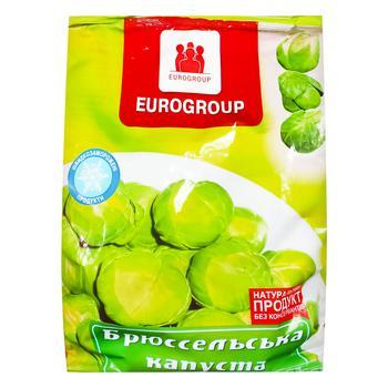 Св морож Єврогруп Капуста брюссельська 350 г