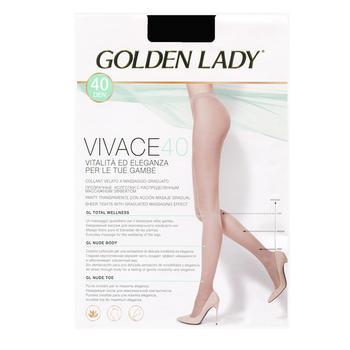 Колготы Golden Lady Vivace женские melon 40ден 2р