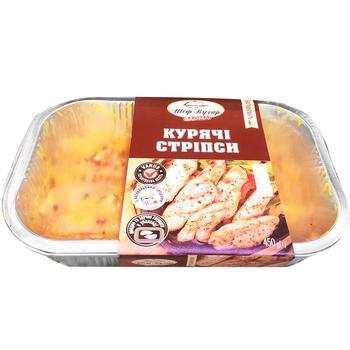 Куриные стрипсы Шеф-повар Дома 450г - купить, цены на Varus - фото 1